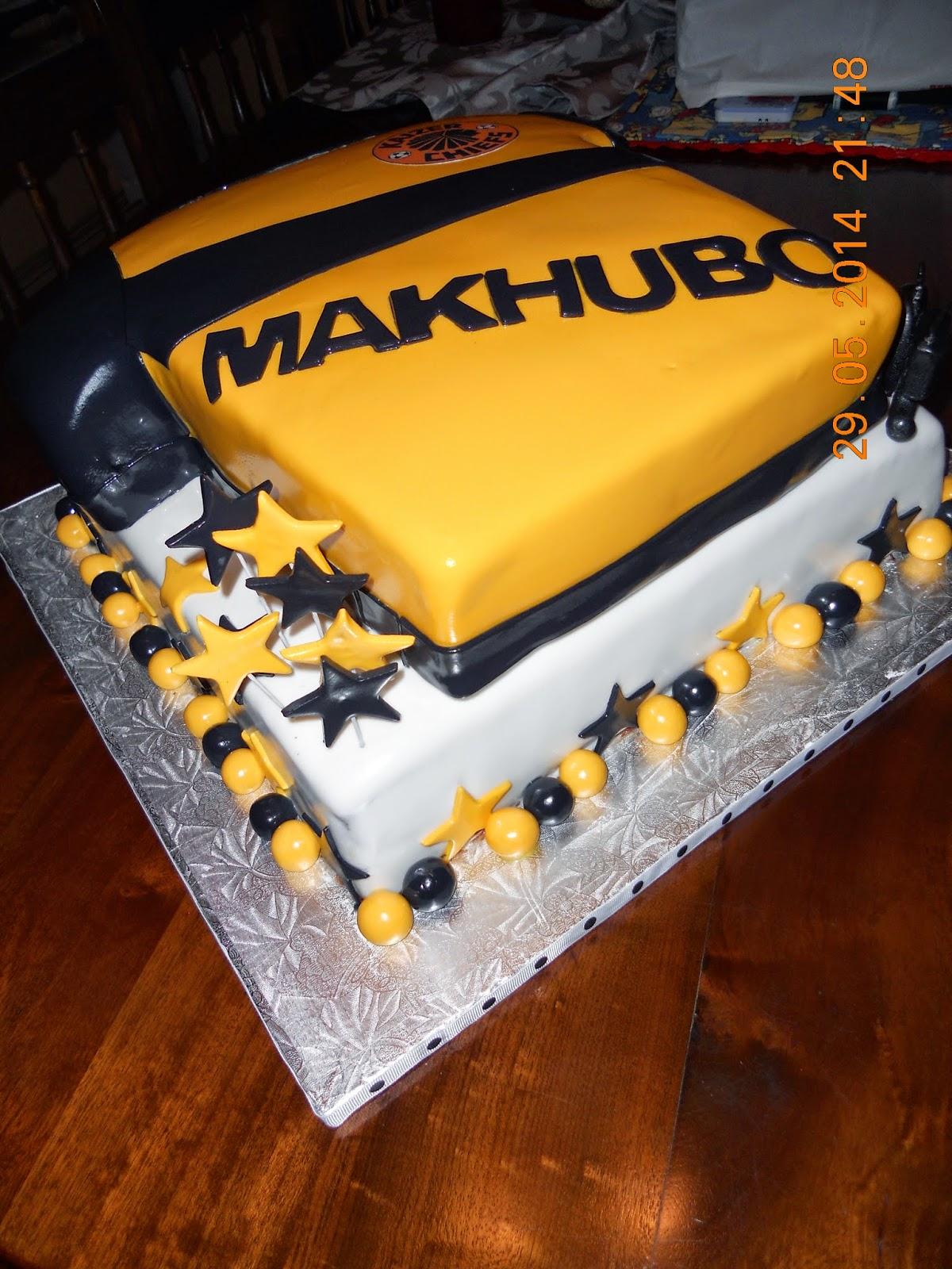 Die Koekblik Kaizer Chiefs 50th Birthday Cake For Pastor