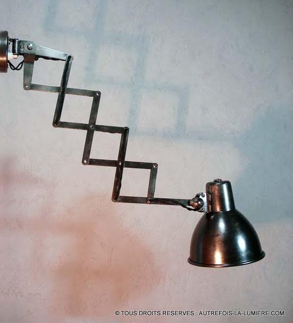 Lampe applique vintage for Applique murale exterieur ancienne