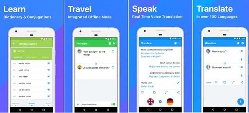 تطبيق iTranslate Translator apk النسخة المدفوعة مجانا
