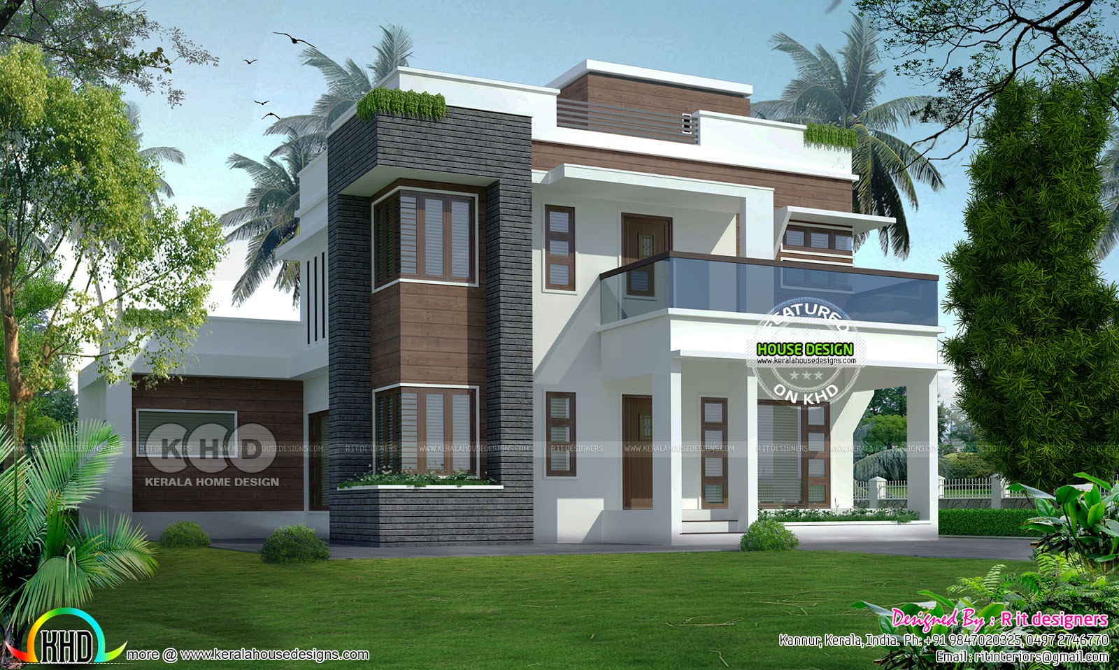 2540 sq ft 4 bedroom house cost of 53 lakhs kerala home for 1600 sq ft house cost