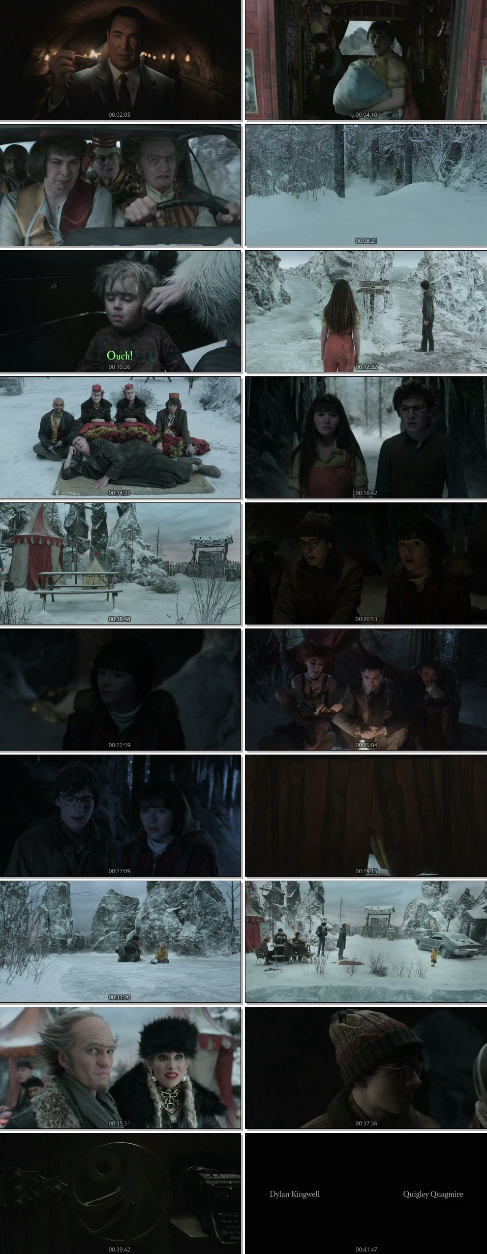 Screenshots Of English Show A Series of Unfortunate Events Season 03 Complete All Episodes 2019 Web-DL 720P 300MB