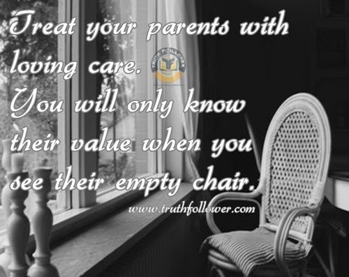 Treat Your Parents With Loving Care