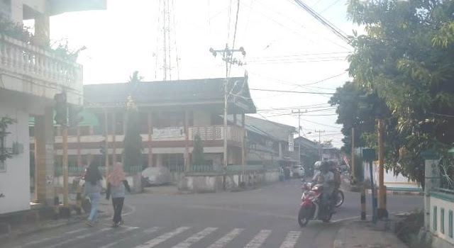 Traffic Light Di Ibukota Benteng, Tidak Berfungsi, Hati-Hati Bagi Pengendara