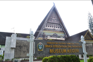 Lokasi Museum Gedung Arca (Museum Negeri SUMUT)