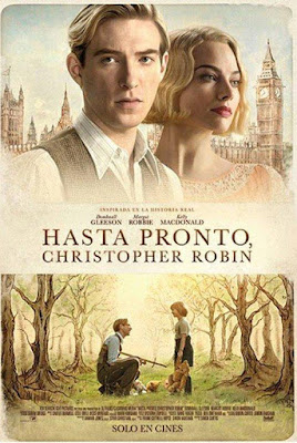 Goodbye Christopher Robin 2017 DVD R1 NTSC Latino