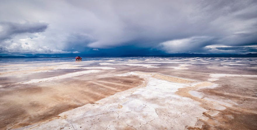 Approaching Storm in the Salar - Bolivian Paradise I Traveled For 3 Months Through The Land Of Wonders