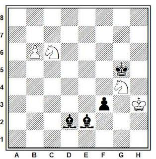 Posición de la partida Markosian - Osnos (Frunza, 1973)