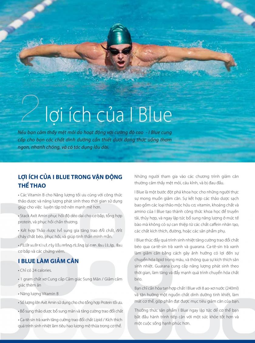 IBlue - Hỗ trợ giảm cân nhanh
