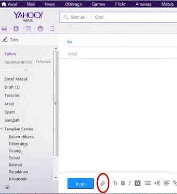 contoh cara kirim surat lamaran pekerjaan via ymail