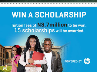 HP/Jumia Nigeria Scholarship Forms, Application Guidelines - 2018/2019 (₦3.7M Tuition Fee)