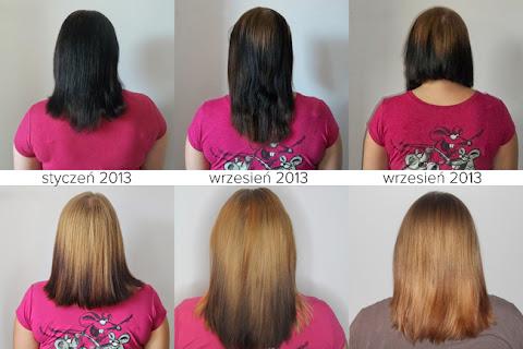 Powrót do naturalnego koloru włosów Dzikiej Wózkowej - z czerni do jasnego blondu - czytaj dalej »