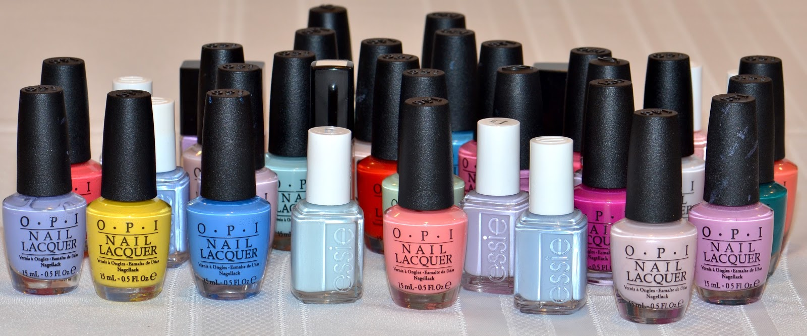 TOP 35 NAIL POLISHES FOR SPRING/SUMMER 2016 - FEATURING ESSIE, OPI ...