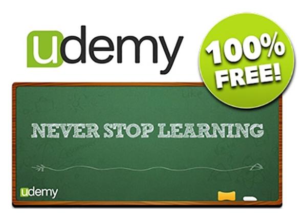 أحصل على دورات تعليمية على منصة Udemy مجانا