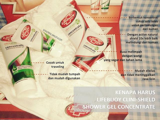 kenapa harus mandi pakai lifebuoy shower gel concentrate