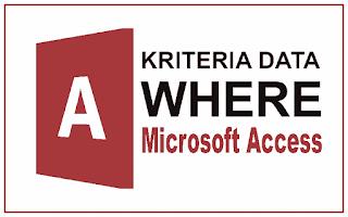 Kriteria data where