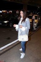 Neha Dhupia in Shirt Denim Spotted at Airport IMG 3521.JPG