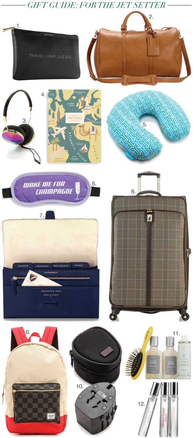 Christmas & Holiday Gift Guide: For Jet Setter // A Style Caddy