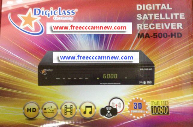 تحديث جهاز DIGICLASS MA-500 HD,تحديث جهاز ,DIGICLASS MA-500 HD,
