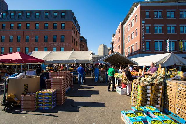 Public market-Boston