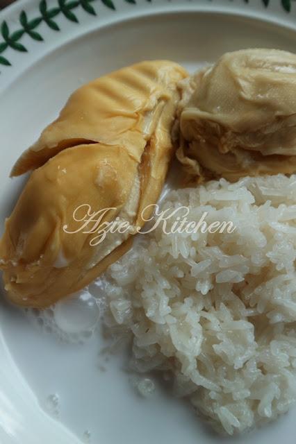 Pulut Durian Musang King