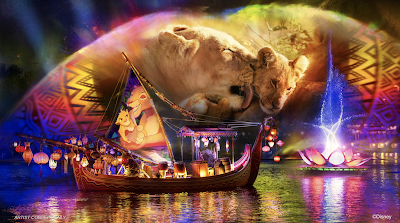 Disney Rivers of Light We Are One Concept Art
