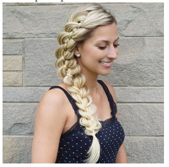 model rambut kepang 2