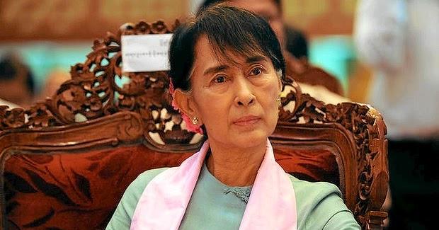 Rohingya Blogger Myanmar Aung San Suu Kyi Silent Over