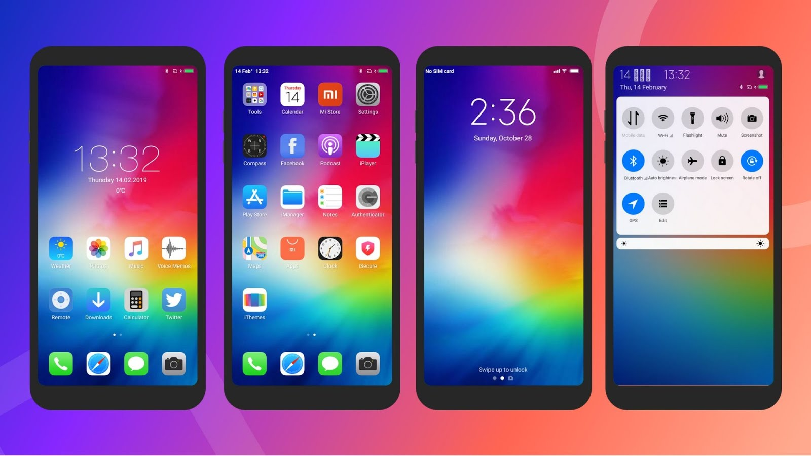 Best iOS Themes Collection for MIUI | Xiaomi Themes