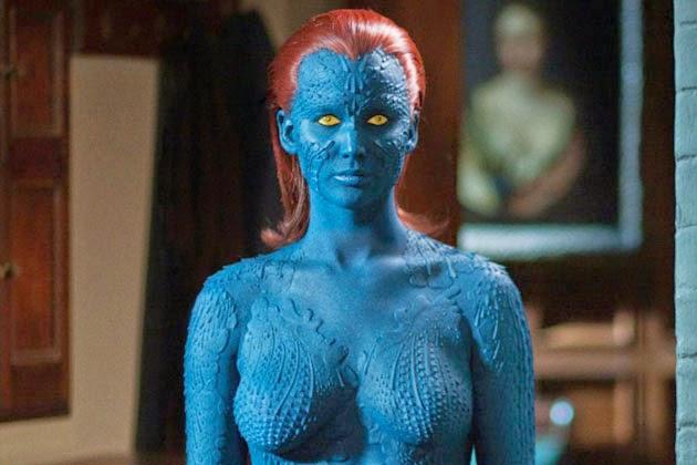Mystique Jennifer Lawrence Full Body Movie Lovers Reviews: ...