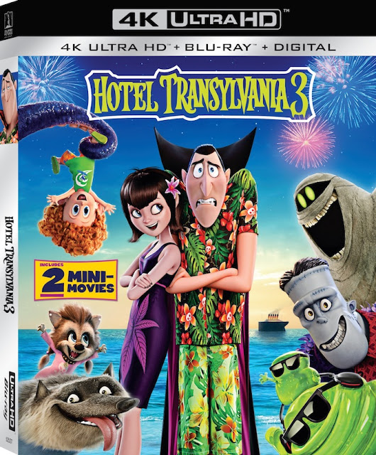 HOTEL TRANSYLVANIA 3 Blu-ray™ Combo Pack & DVD on October 9 #HotelT3