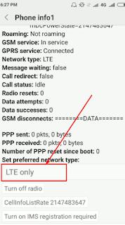 Cara Mengunci Signal atau Jaringan 4G LTE Saja Di Android Xiaomi  Atau How To Lock 4G LTE Only On Android Xiaomi
