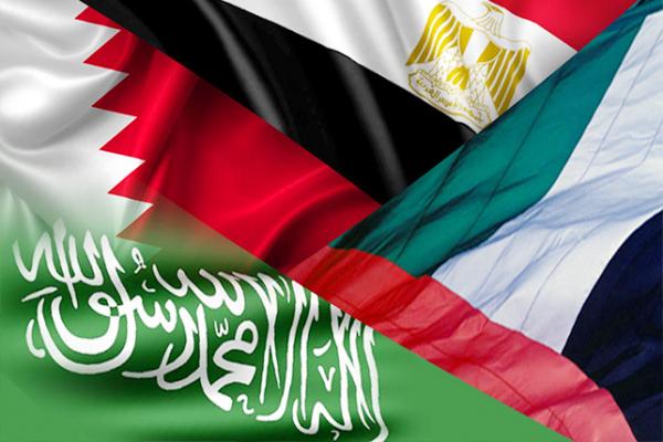 السعودية ومصر والبحرين والإمارات يصدروا بيانا عاجلا للرد على الدوحة