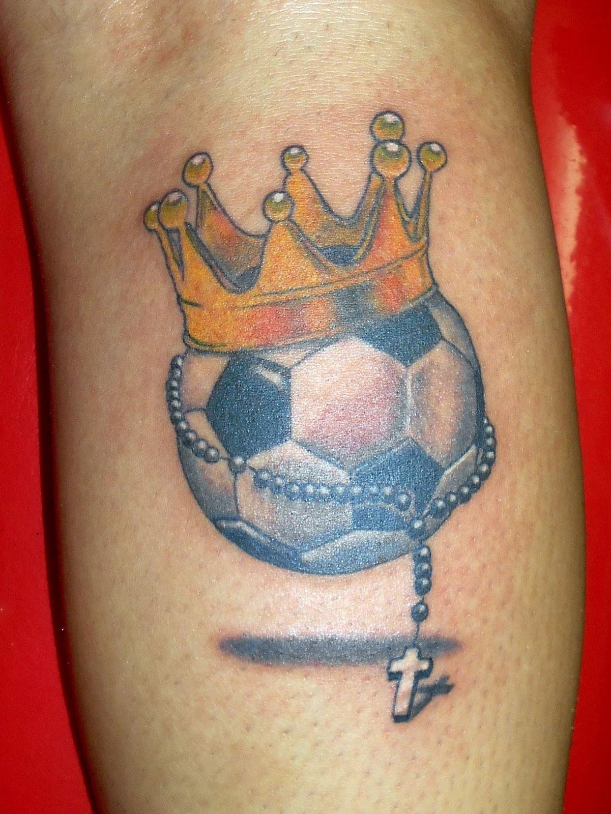 Tatuajes Lfa Tatuaje Pelota De Futbol