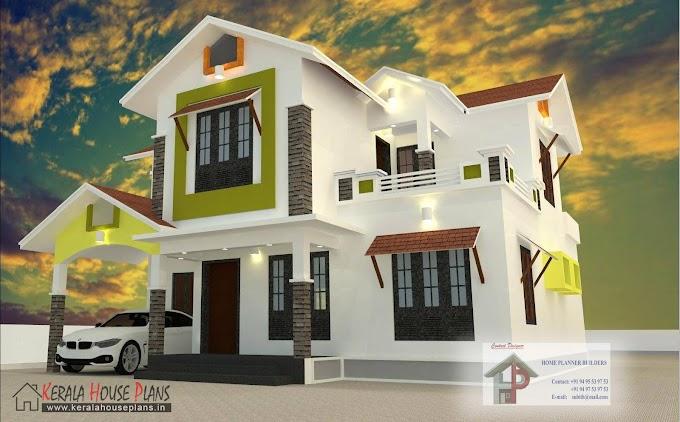2000 sqft Budget Kerala Style House