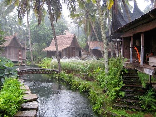 Una pittoresca guest-house, immersa nella foreesta balinese