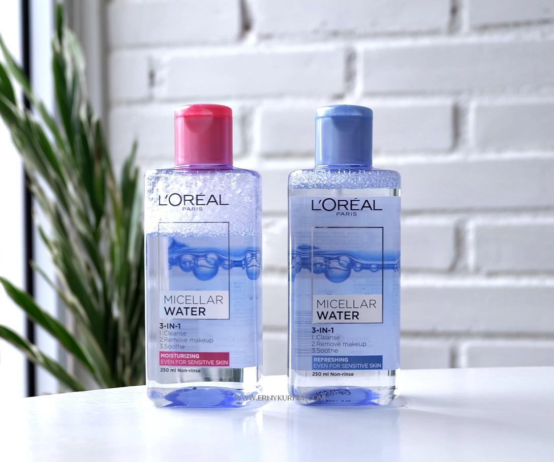 Bersihkan Makeup Dan Kotoran Lebih Maksimal Dengan Loreal Paris L Oreal Micellar Water 250ml Blue Sesuai Namanya Double Cleansing Ini Punya Dua Langkah Untuk Memaksimalkan Proses Membersihkan Kulit Dari Hingga