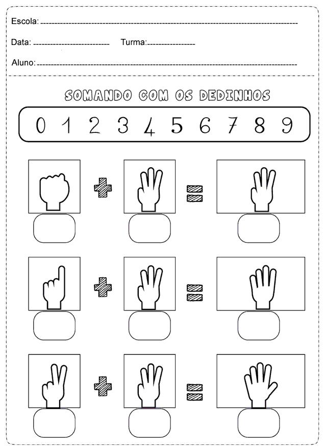 Baixe Em Pdf Atividades De Matematica 1 Ano Para Imprimir So