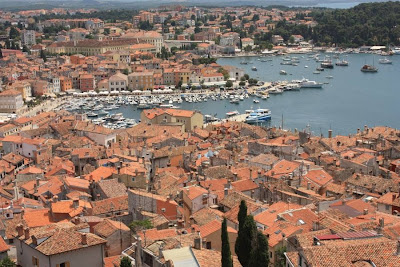 Rovinj from Saint Eufemia church