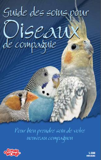 Guide des soins pour Oiseaux de compagnie -WWW.VETBOOKSTORE.COM