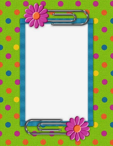 Daisies: Free Printable Frames, Borders and Labels.