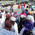 PHOTOS: Aisha Buhari Donates Food Items To 1500 Households In 5 LGAs in Borno State