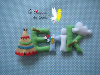 nombre-fieltro-felt-feltro-name-banner-elbosquedelulu-regalo-personalizado-babyroom-hechoamanoparati