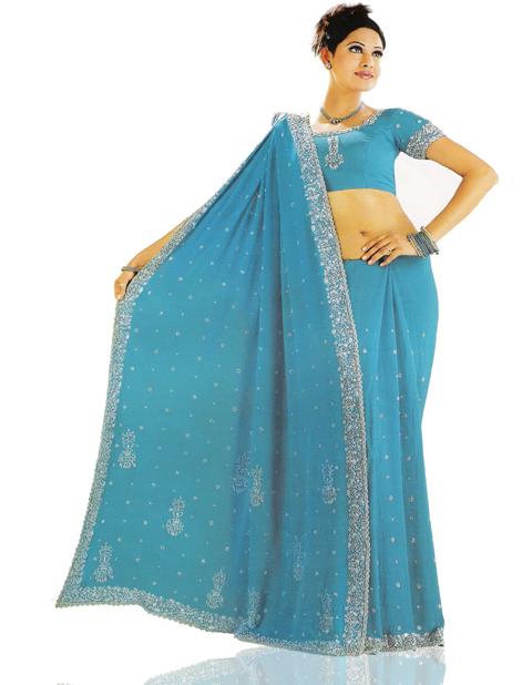 model baju sari india tanah abang