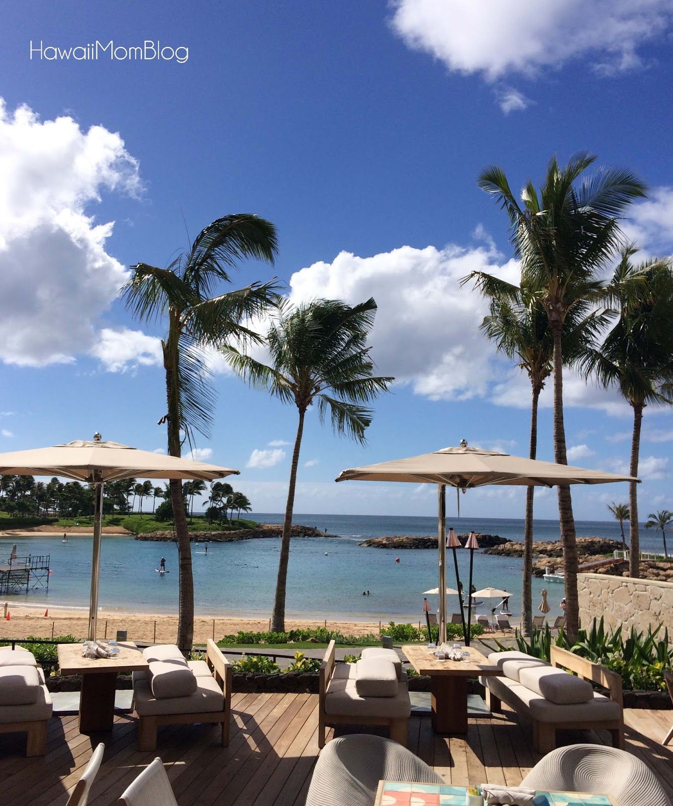 Hawaii mom blog sunday brunch on the beach at fish house for Fish house ko olina