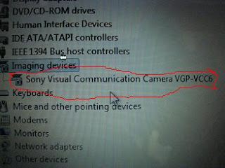 webcam sony vaio drivers
