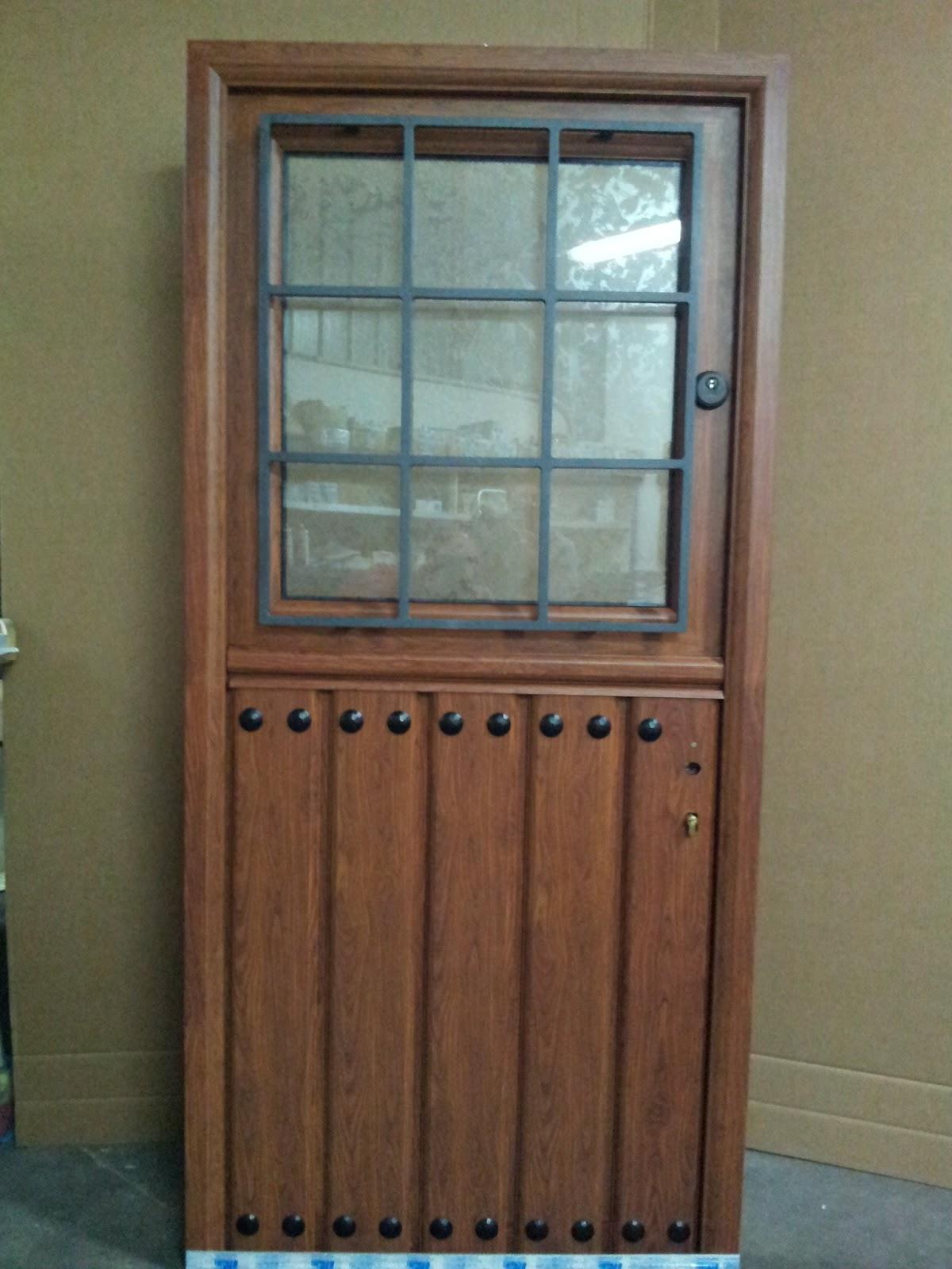 Puertas r sticas en aluminio for Puertas de entrada de aluminio rusticas