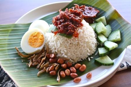 Resepi Nasi Lemak Kukus dan Sambalnya Yang Sedap
