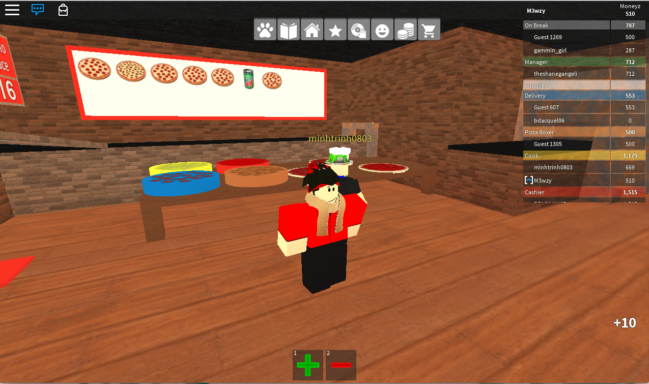 Roblox Game Guides Work At A Pizza Place