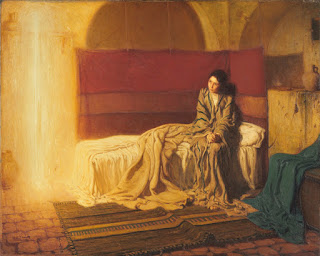 Henry Ossawa Tanner, The Annunciation, 1898, Oil on canvas