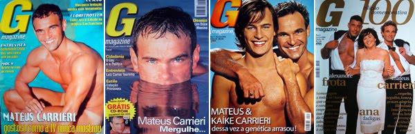 Mateus Carrieri Revsita G Magazine - Coleção